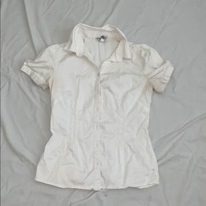 Women's White Button down
